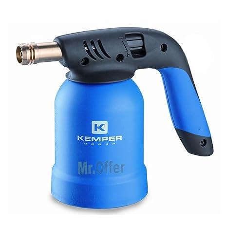 Soldadora de gas profesional compacto portátil, recargable, Soplete de gas portátil mini para soldadura