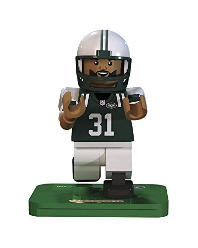 NFL GEN3 New York Jets Antonio Cromartie Limited Edition Minifigures, Green, Small by OYO