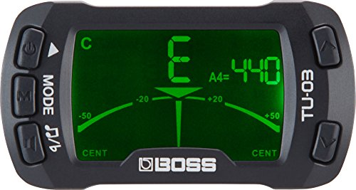 BOSS Clip-On Chromatic Tuner and Metronome (TU-03)