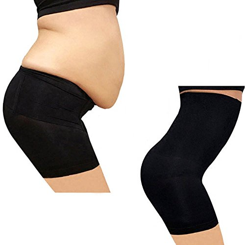Body Shaping Underwear, Body Slimming Tights, High Waist, Black, Size X-Large