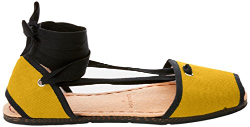 Yellow Espadrillas amp;Pie Spartans Couple Donna Shoes Sunset Giallo Original FW8ZwaTq