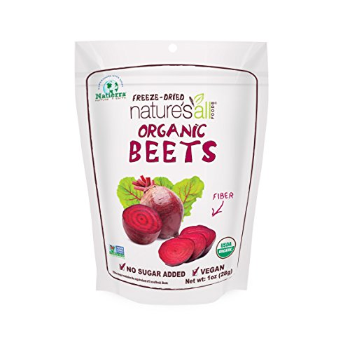Natierra Nature's All Foods Organic Freeze Dried Beets, 1 Ounce