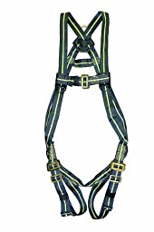 Elk River 95104 FireMaster Kevlar 1 D-Ring Harness with Mating Buckles and Fall Indicator, Fits Large to X-Large