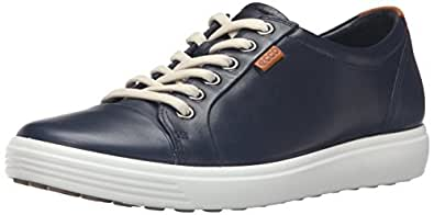 ECCO Footwear Womens Soft 7 Fashion Sneaker, Marine, 35 EU/4-4.5 M US