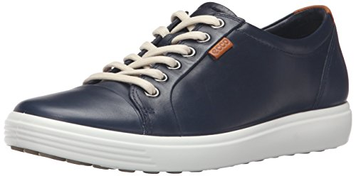 Ecco  Womens Soft 7 Fashion Sneaker, Marine, 40 EU/9-9.5 M US