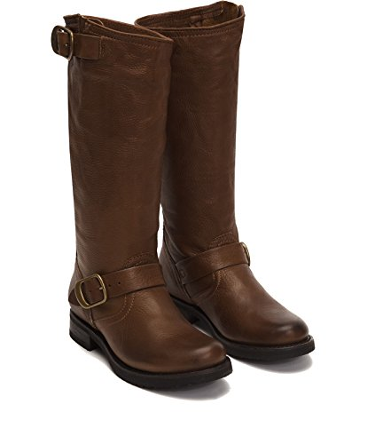 Veronica Slouch Boots - FRYE Women's Veronica Slouch Boot, Cognac, 8.5 M M US