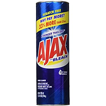 Amazon Com Ajax Powder Cleanser With Bleach 14 Oz 396 G