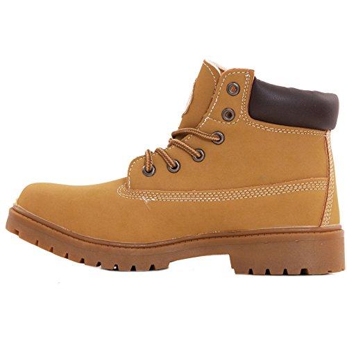 Toocool ,  Herren desert boots Camel