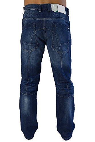 Recta Crosshatch By Denim Pernera Lavado Hombre Vaqueros Lopes Militar Cargo Medio Tx5O0XY