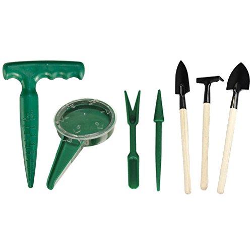 3 Pcs Mini Garden Plant Tool Set - 8