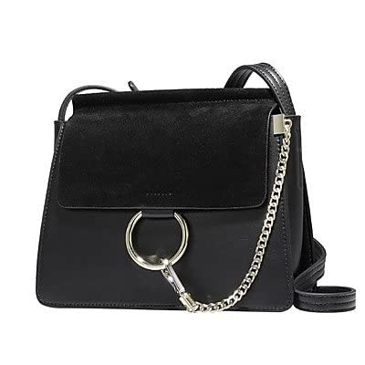 Women Bags All Season PU Cowhide Shoulder Bag Buttons for Casual Black Camel 80%OFF