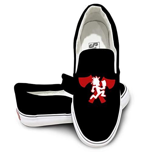 reputable site f322a 4bd23 Weiheiwec 9 Ogbcom Hatchetman Icp Logo Unisex Low-Top Casual Canvas Fashion  Sneaker 43