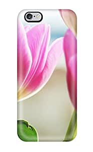 Christmas Gifts 7039733K46119011 Ideal Case Cover For Iphone 6 Plus(tulips Spring), Protective Stylish Case