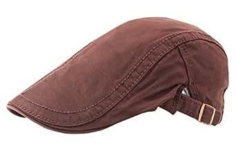 Imagen no disponible. Imagen no disponible del. Color  AIEOE Sombrero de  Boinas Beret Gorro con Visera Protección del Sol Transpirable Bailey Cap ... 45efc8a53bd