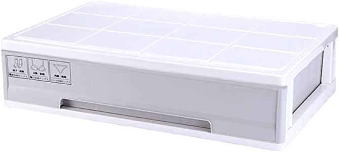 WYCD Caja De Almacenamiento Multiusos Bajo Cama con Tapa Plástico ...