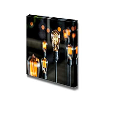 Canvas Prints Wall Art - Beautiful Blurred Lighting Decor| Modern Home Deoration/Wall Art Giclee Printing Wrapped Canvas Art Ready to Hang - 16
