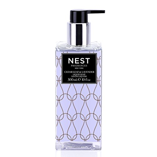 NEST Fragrances  Scented Liquid Hand Soap- Cedar Leaf & Lavender , 10 fl (Rosemary Leaf Liquid)
