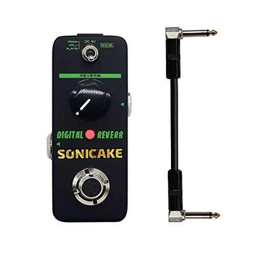 SONICAKE Digital Reverb Mini Guitar Effects Pedal True Bypass
