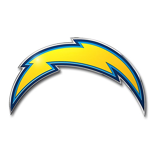 Team ProMark NFL San Diego Chargers Die Cut Color Automobile ()