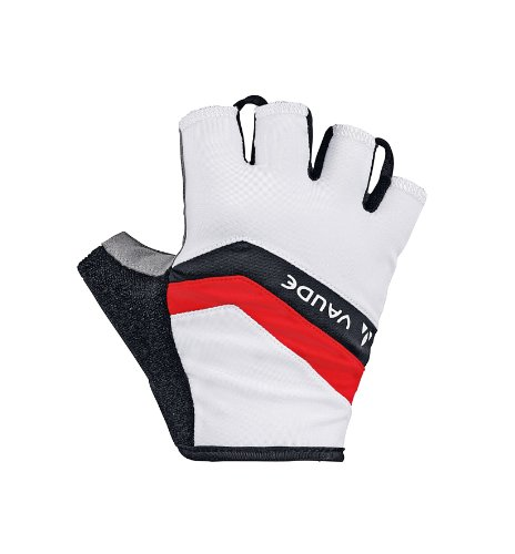 Vaude Active Gentlemen white (Size: 11) Fingerless cycle gloves
