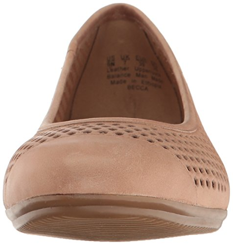 Naturalizer Women's Becca Ballet Flat Gingersnap sale shopping online in China 2014 cheap sale free shipping shop for EGkY560