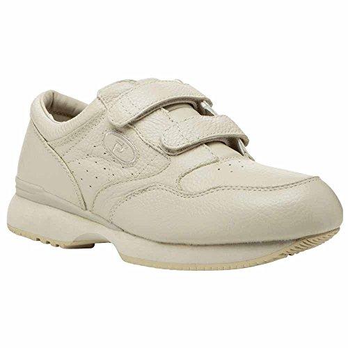 Propet Men's M3715 Leisure Walker Strap Sneaker,Ice Grain,8.5 M (US Men's 8.5 ()