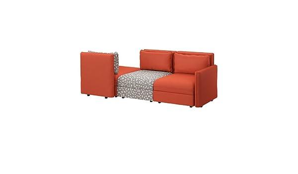 IKEA Sleeper seccional, 3 plazas, orrsta naranja, funnarp ...