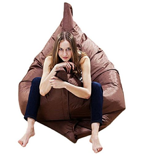 Outdoor bed,Fdsd Giant Beanbag Cushion Pillow Indoor Outdoor Relax Gaming Gamer Bean Bag (Brown) by Fdsd