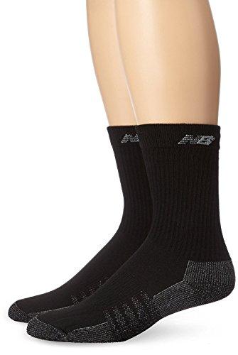 New Balance Unisex 2 Pack Crew with Coolmax Socks