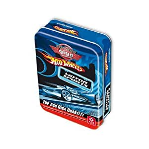 TOP ASS Giga Quartett Hot Wheels Motorsport in Metallbox