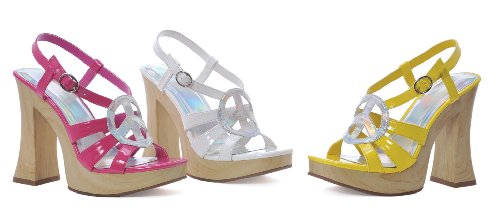 Funk Adult Costume Shoes White - Size 6