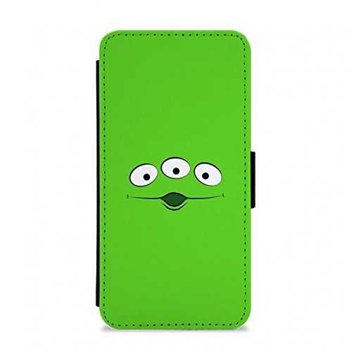 Toy Story Alien Flip / Wallet Phone Case - iPhone 4 / 4s