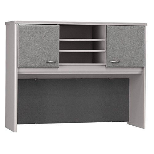 - Bush Business Furniture Series A Collection 48W Hutch in Pewter
