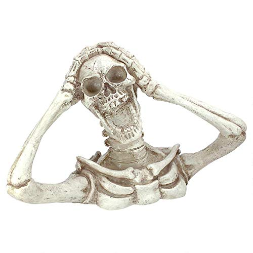Design Toscano Shriek The Skeleton Statue Large – Zombie Statue – Halloween Prop