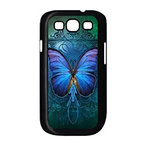HB-P-CASE DIY Design Butterfly Pattern Phone Case For Samsung Galaxy S3 I9300