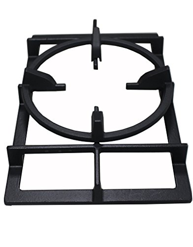 Grill Valueparts Cast Iron Wok Ring For Select Samsung NX58H5650WS, NX58H5600SS, NX58H9500WS, NY58J9850WS, Frigidaire FPGF3077QF, FPGH3077RF, GE Appliances JGB860SEJSS, Kenmore, Bosch gas ranges