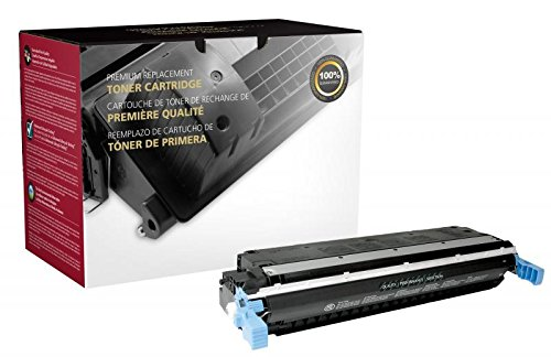 Fine Line Printing Compatible Toner Cartridge Replacement for HP 645A ( Black)