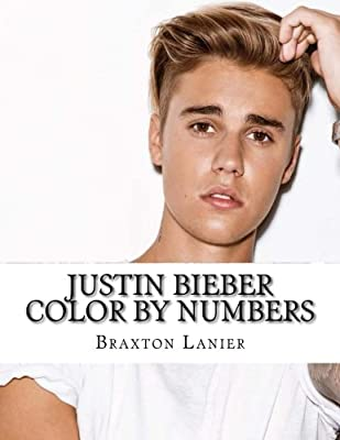 Justin Bieber Color By Numbers (Activity Books for All Ages)