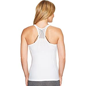 New Balance Women's Centre Court Tank Top, White, X-Large