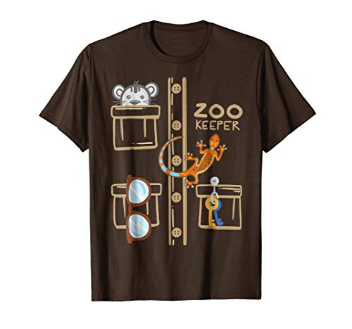 Zookeeper Costume Shirt - Halloween Jungle -