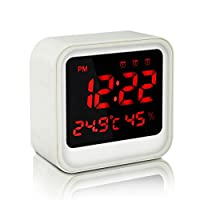 Number-One Digital Alarm Clock with 3 Se...