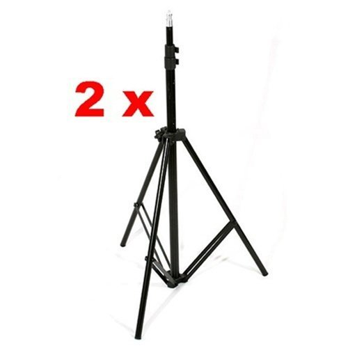 CowboyStudio Photo and Video Studio Umbrella Continuous Lighting Light Kit- 27 feet Stands, 1 Mini Stand and Carry Case by CowboyStudio (Image #5)