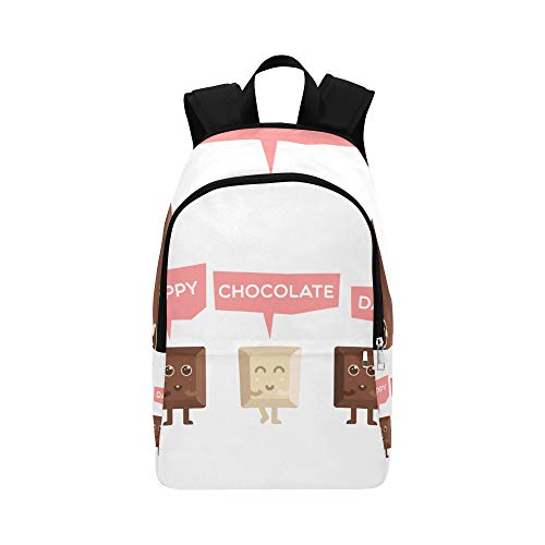 Backpack Shoulder Bag Blocks of Chocolate 15 July for Men Women Teachers Bookbag Laptop Backpack Comfort University Shipping for Traveler