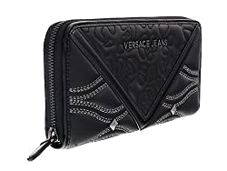 Versace Ee3vobpk2 E899 Black Multifunction Wallet For Womens