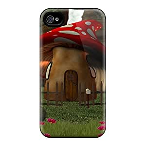 AlexandraWiebe GBV10661JzXB Cases For Iphone 6 With Nice Chic With Mushroom House Appearance