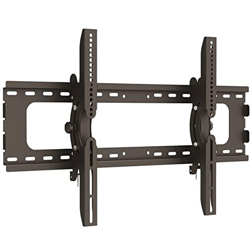 Startech Flat-Screen TV Wall Mount – For 32″ to 70″ LCD LED or Plasma TV – Tilting Wall Mount for VESA Compliant Flat-Panel TVs – Black – FLATPNLWALL