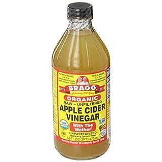 Bragg Organic Unfiltered Apple Cider Vinegar, Raw, 16 Ounce - 1 Pack