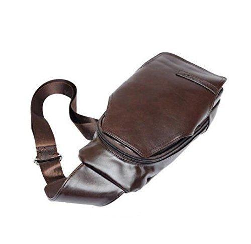Paquete De Negocios Bolso De Hombro Casual Bolso De Hombres Corsé Moda Bolso Messenger Bag Regalos De Navidad Brown