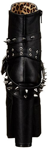 Donna Vegan Torment Pleaser 700 Nero black Leather Stivali blk vvZOUw