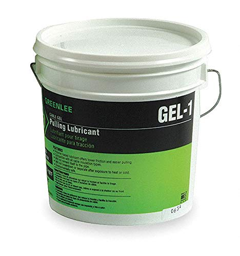 Greenlee Chain, Cable, Wire Lubricant, 1 gal. Pail, Water Chemical Base, Blue Color 1 gal. GEL-1-1 Each
